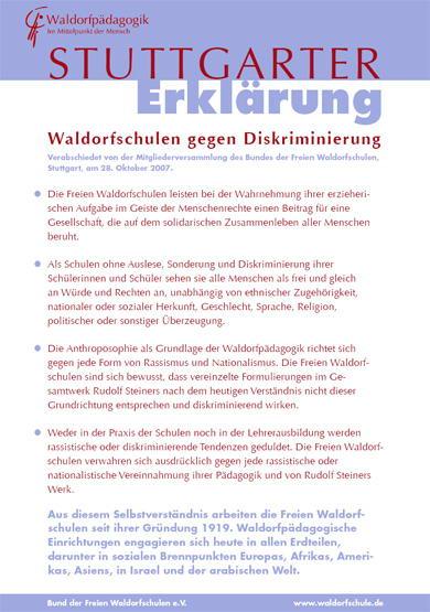 Die Stuttgarter Erklärung