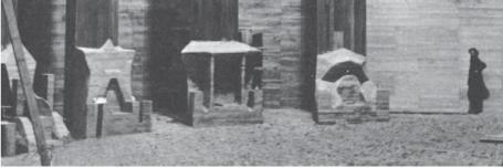 """""""Thronsessel"""" im Ersten Goetheanum"""